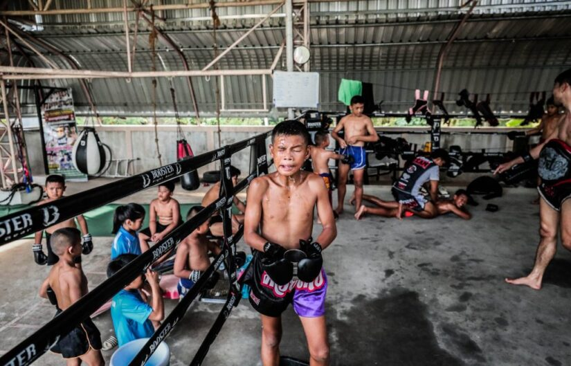 Show your support and help by donating to Muay Thai gyms and its community!